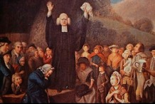 George Whitefield Open Air Preaching