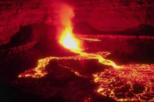A Pond of Lava, or Lake of Fire