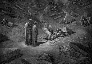 Gustave Dore - Farinata 1