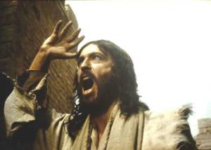 Jesus angry at money changers