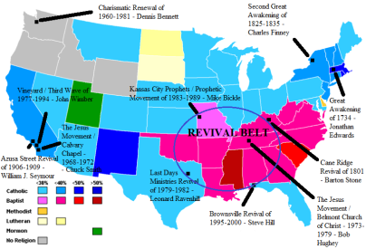 Religions in USA