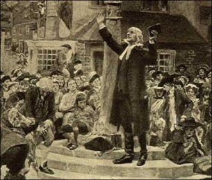 John Wesley Open Air Preaching 3