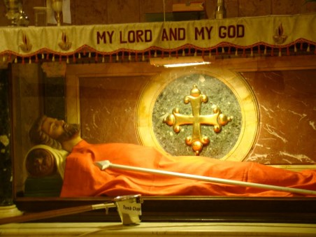 The Tomb of St. Thomas